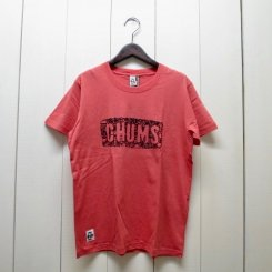 チャムス/CHUMS/CHUMS Beach T-Shirt/Coral