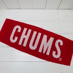 チャムス/CHUMS/CHUMS Logo Towel II/Red