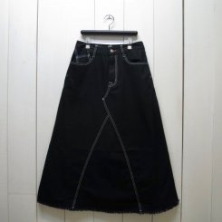 チャムス/CHUMS/Jean Skirt/Black