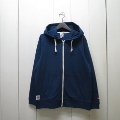 チャムス/CHUMS/Full Zip T-Parka/Navy