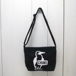 チャムス/CHUMS/Booby Print Shoulder Sweat/Black