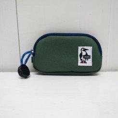 チャムス/CHUMS/Eco Coin Case/Forest Green