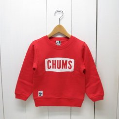 チャムス/CHUMS/Kid's  Boat Logo Crew Top/Tomato