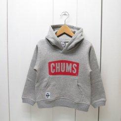 チャムス/CHUMS/Kid's  CHUMS Logo Pullover Parka/H・Gray