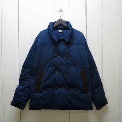 チャムス/CHUMS/Teeshell Down Pea Coat/H・Navy