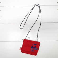 チャムス/CHUMS/Eco Pocket Shoulder Pouch(for Kid's)/Red