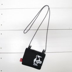 チャムス/CHUMS/Eco Pocket Shoulder Pouch(for Kid's)/Black