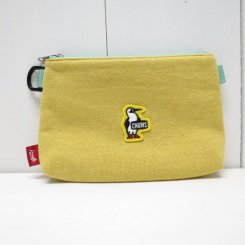 チャムス/CHUMS/Booby Wappen Mini Pouch/H・Yellow