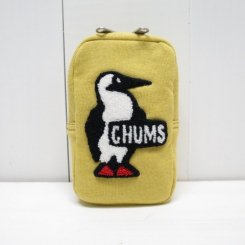チャムス/CHUMS/Vertical Pouch Sweat/H・Yellow