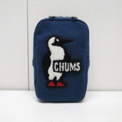 チャムス/CHUMS/Vertical Pouch Sweat/H・Navy