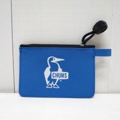 チャムス/CHUMS /Tarpaulin Coin Case/Blue