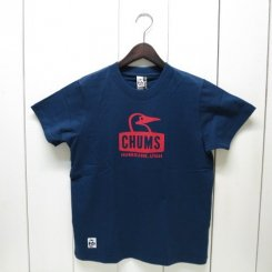 チャムス/CHUMS/Booby Face T-Shirt/Navy
