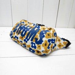 チャムス/CHUMS/Eco CHUMS Logo Waist Bag/Yellow Flower