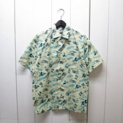 チャムス/CHUMS/Chumloha Shirt/White Trip