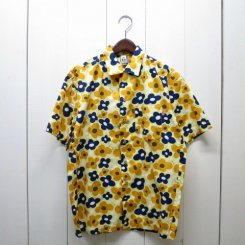 チャムス/CHUMS/Chumloha Shirt/Yellow Flower