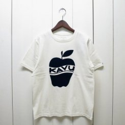 カブー/KAVU/MENS APPLE T-Shirt/White