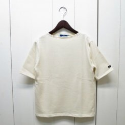 セントジェームス/OUESSANT SHORT SLEEVE SHIRTS/ECRU 生成り