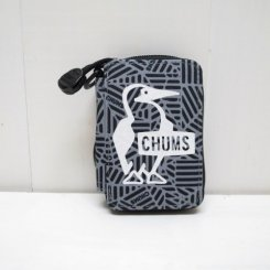 チャムス/CHUMS/Eco Key Zip Case/Booby Silhouette