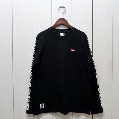 チャムス/CHUMS/HWYC L/S T-Shirt/Black