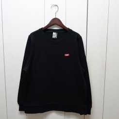 チャムス/CHUMS/ Keystone Sweat Crew Top / Black
