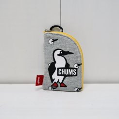 チャムス/CHUMS/Pass Card Case Sweat/Booby Heads