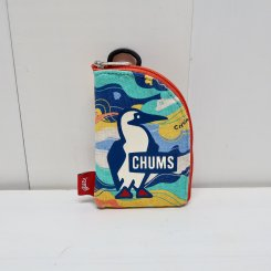 チャムス/CHUMS/Pass Card Case Sweat/Cloud