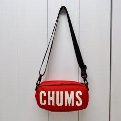 チャムス/CHUMS/Eco CHUMS Logo Shoulder Pouch/Red