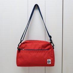 チャムス/CHUMS/Eco Small Trapezoid Shoulder II/Red