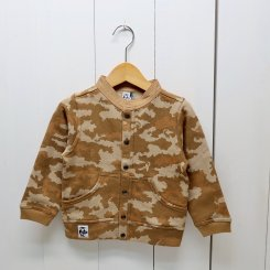 チャムス/CHUMS/Kid's Full Snap Hurricane Top/Digital Camo