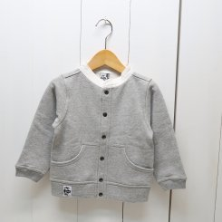チャムス/CHUMS/Kid's Full Snap Hurricane Top/H・Gray