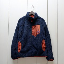 チャムス/CHUMS/Bonding Fleece Jacket/Navy