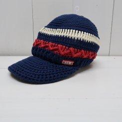 チャムス/CHUMS/Border Work Knit Cap/Tricolor