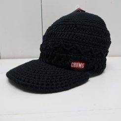 チャムス/CHUMS/Work Knit Cap/Black