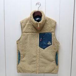 チャムス/CHUMS/Bonding Fleece Vest/Beige