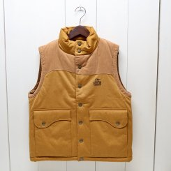 チャムス/CHUMS/Teeshell Insulated Vest/H・Brown