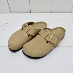 ビルケンシュトック/BIRKENSTOCK/Big Buckle Boston/Mud Green
