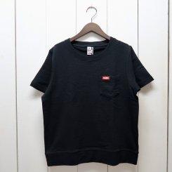 チャムス/CHUMS/Keystone S/S Pocket Crew Top/Black