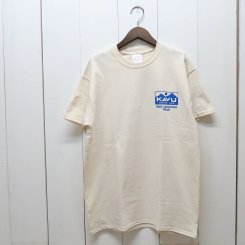 <img class='new_mark_img1' src='https://img.shop-pro.jp/img/new/icons13.gif' style='border:none;display:inline;margin:0px;padding:0px;width:auto;' />カブー/KAVU/True Logo Tee/Natural