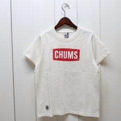 チャムス/CHUMS/CHUMS Logo T-Shirt/White
