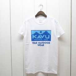 <img class='new_mark_img1' src='https://img.shop-pro.jp/img/new/icons13.gif' style='border:none;display:inline;margin:0px;padding:0px;width:auto;' />カブー/KAVU/True Logo 2C Tee/Blue