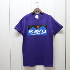 <img class='new_mark_img1' src='https://img.shop-pro.jp/img/new/icons13.gif' style='border:none;display:inline;margin:0px;padding:0px;width:auto;' />カブー/KAVU/Ballard Tee/Purple