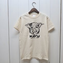 <img class='new_mark_img1' src='https://img.shop-pro.jp/img/new/icons13.gif' style='border:none;display:inline;margin:0px;padding:0px;width:auto;' />カブー/KAVU/Pig Tee/Natural