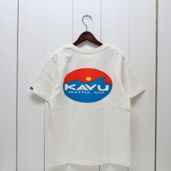 <img class='new_mark_img1' src='https://img.shop-pro.jp/img/new/icons13.gif' style='border:none;display:inline;margin:0px;padding:0px;width:auto;' />カブー/KAVU/Surf Logo Tee/White