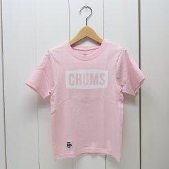 チャムス/CHUMS/Kid's CHUMS Logo T-Shirt/Pink