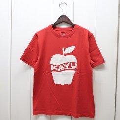 カブー/KAVU/MENS APPLE T-Shirt/Red