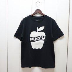 カブー/KAVU/MENS APPLE T-Shirt/Black