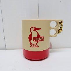 チャムス/CHUMS/Camper Mug Cup Large/Beige × Red