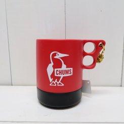 チャムス/CHUMS/Camper Mug Cup Large/Red × Black