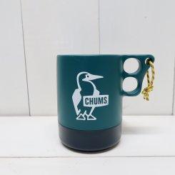 チャムス/CHUMS/Camper Mug Cup Large/Dark Teal × Navy