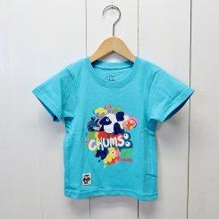 <img class='new_mark_img1' src='https://img.shop-pro.jp/img/new/icons13.gif' style='border:none;display:inline;margin:0px;padding:0px;width:auto;' />チャムス/CHUMS/Kid's DWYC T-Shirt/Aqua